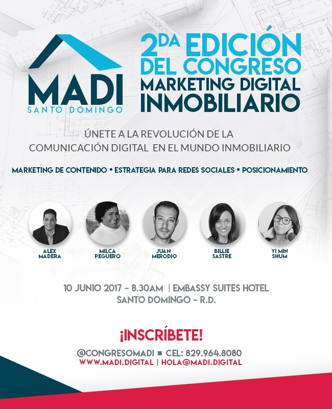 2do Congreso de Marketing Digital Inmobiliario MADI 2017